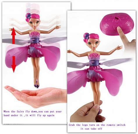 Electronic Flying Doll battery operate flying toys electronic flying
