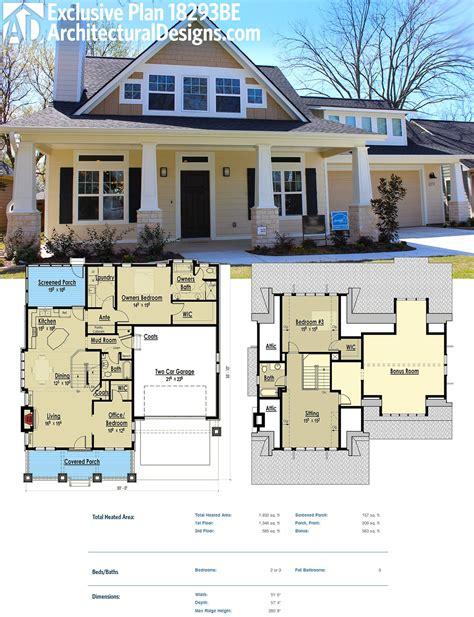 plan  storybook bungalow  bonus   garage photo  bonus rooms