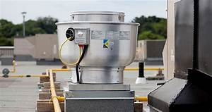 1000 Cfm Belt Drive Upblast Exhaust Fan With 13 75 U0026quot  Wheel