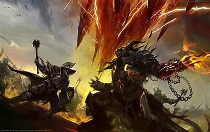 Epic Monster Beast Desktop Battle Fantasy Fight