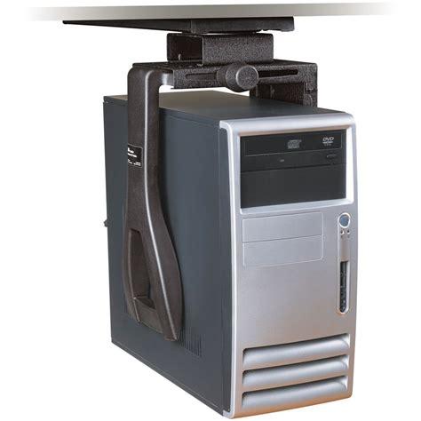 under desk computer mount 3m cs200mb adjustable under desk cpu mount cs200mb b h photo