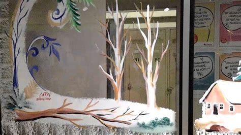 decor de noel pour vitrine dessin d 233 coration vitrines de commerces pour no 235 l