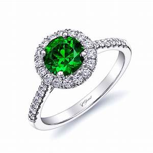 Coast diamond engagement ring of the week love coast for Green wedding ring