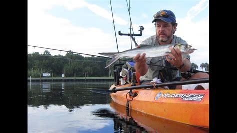 fishing kayak inshore water action
