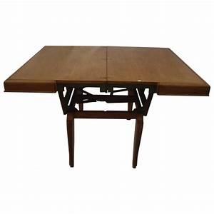 Table Basse Transformable En Table Haute : table rabattable cuisine paris table basse transformable en table haute ~ Teatrodelosmanantiales.com Idées de Décoration