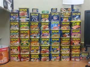 Hawaii Spam Flavors