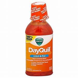 Vicks® DayQuil® Cold & Flu 12 oz Liquid - Bed Bath & Beyond