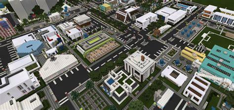 uks city christmas update creation minecraft pe maps