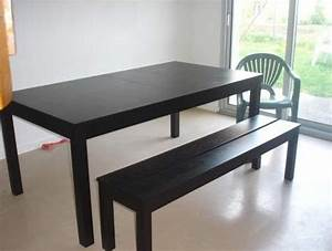 Banc Interieur Ikea : table banc ikea table de lit ~ Teatrodelosmanantiales.com Idées de Décoration