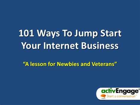 101 Ways To Boost Your Internet Sales