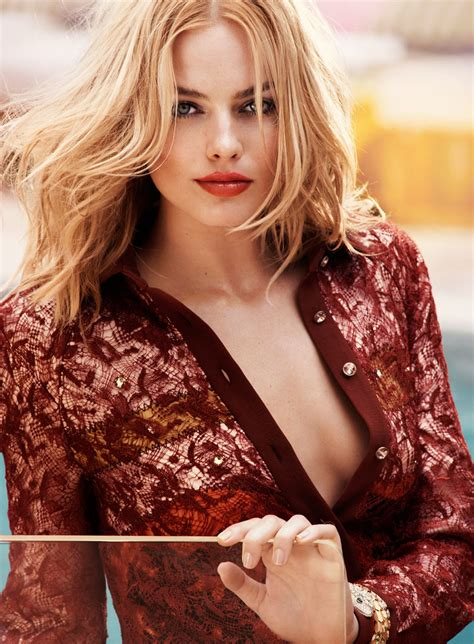 Margot Robbie Elle Magazine August 2015 Issue