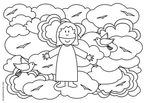 Der feiertag christi himmelfahrt fällt immer auf einen donnerstag. Beste 20 Christi Himmelfahrt Ausmalbilder - Beste ...