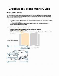 Download Free Pdf For Creative Zen Zen V Plus 1gb Mp3