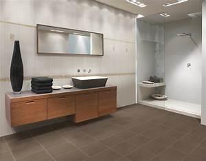 stunning faience salle de bain ton gris images With faience verte salle de bain
