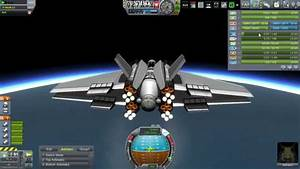 Kerbal Space Program - Space Plane to the Mun (1) - YouTube