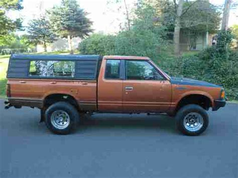 nissan truck diesel purchase used 1984 nissan pickup 720 4x4 diesel sd25
