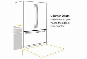 Refrigerator Sizes  The Guide To Measuring For Fit
