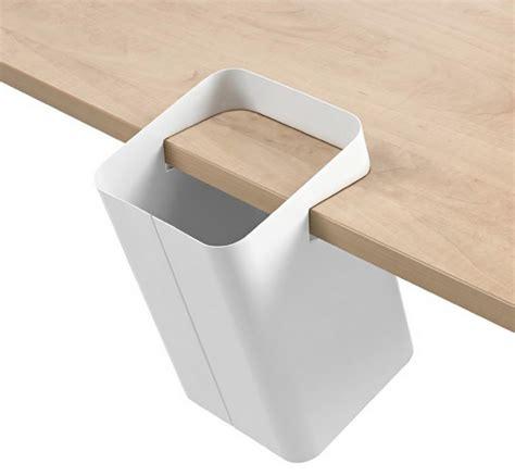 accessoire de bureau design poubelle de table par crous calogero déco design