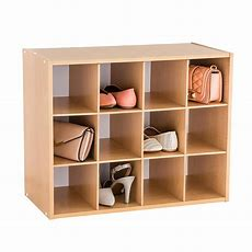 Natural 12pair Shoe Organizer  The Container Store