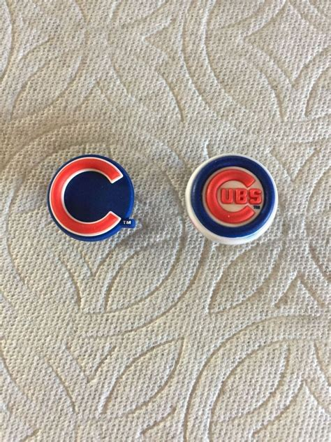chicago cubs jibbitz chicago cubs shoe charms fits crocs