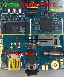 China Nokia 6300d Mic Way