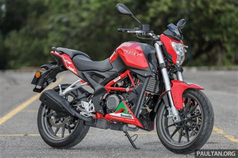 Benelli Tnt 15 Photo by Review Benelli Tnt25 Low Cost Stylish City