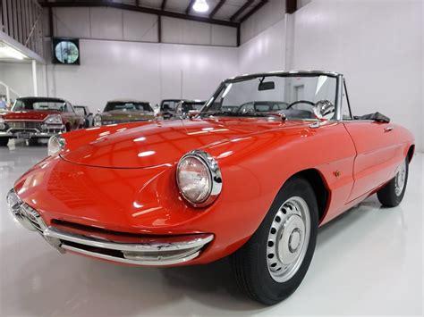 1966 Alfa Romeo Duetto Spider Convertible