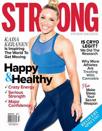 Fitness Strong Magazine Health Covers Healthy Mag