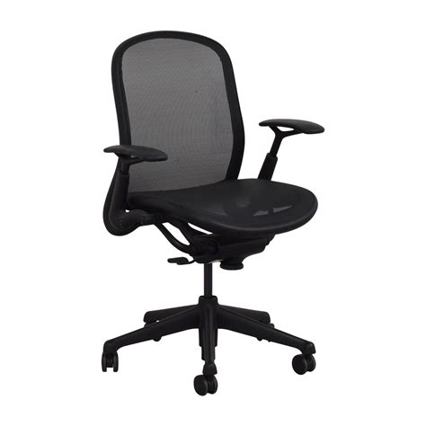 Office Chairs Knoll by 76 Knoll Knoll Black Rolling Office Chair Chairs