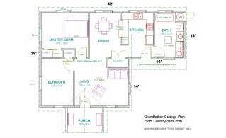 blueprints for a house grandfather cottage home plans kit