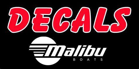 Malibu Boats Decal by Malibu Boat Decals Malibu Boat Stickers