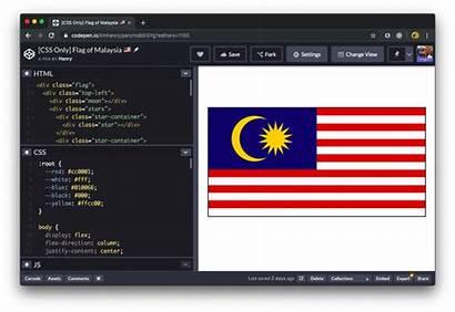 Css Malaysia Flag Imgur Codepen Pen Io
