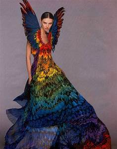 Alexander McQueen rainbow dress from Fashion Designer ...
