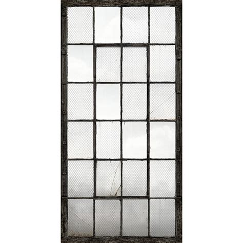 wall panels industrial texture charcoal warehouse windows mural