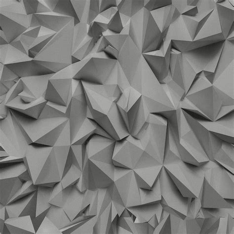 p s times 3d effect triangle pattern geometric non woven