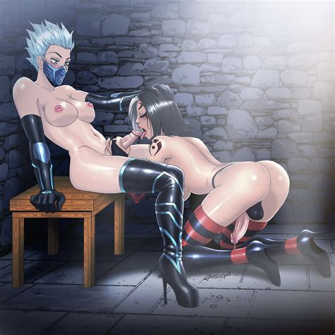Frosts Slave By Anasheya Hentai Foundry