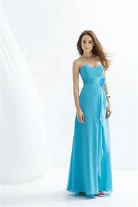 Aqua blue bridesmaid dresses what do you think about for Aqua blue dress for wedding