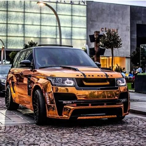 orange chromerange rover sport exotic whips range