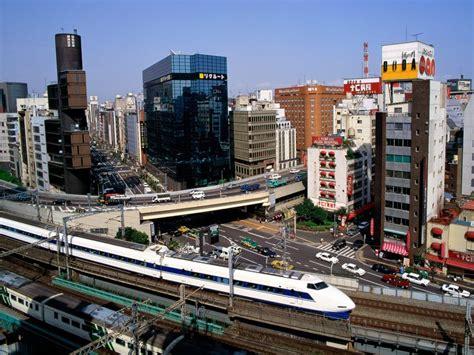 bullet train tokyo vacation rail train transportation