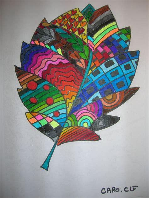 coloriage art plastique dessin automne coloriage