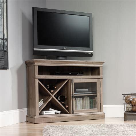 cabinet with tv rack barrister lane corner tv stand 414729 sauder