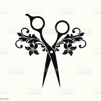 Salon Beauty Symbol Vector Illustration Hair Barber