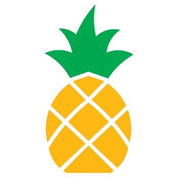 pineapple top silhouette large pineapple stencil search home inspiration