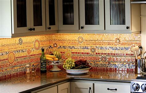 carrelage mural cuisine mosaique choisir un carrelage mural de cuisine pour une ambiance fra 238 che et accueillante