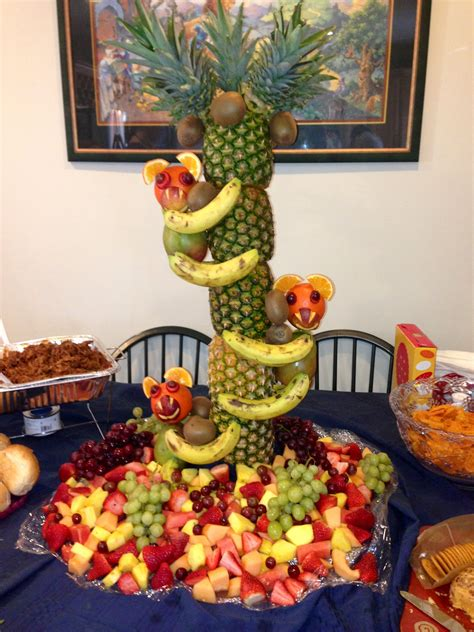 Some Ideas For Jungle Theme Baby Shower Food Free