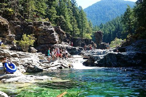Three Pools  Opal Creek Wilderness  Cascades Oregon