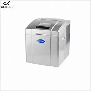 Xeoleo Bullet Ice Maker 20kg Ice Machine Household Round Ice Make Machine Bar Round Ice Manual