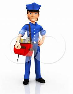 Mail Courier Clipart