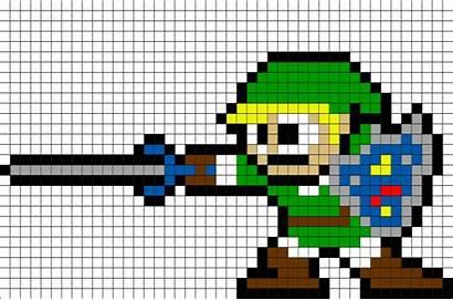 Pixel Zelda Sword Link Nes Nintendo Pixelart
