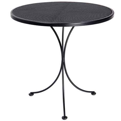 woodard 30 quot micro mesh top bistro table 220134